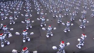 1069 ρομπότ χόρεψαν ταυτόχρονα κι έσπασαν το ρεκόρ Γκίνες (Vid)