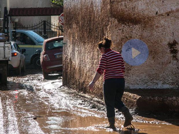 Μάνδρα: Οι εικόνες βιβλικής καταστροφής «μιλούν» από μόνες τους