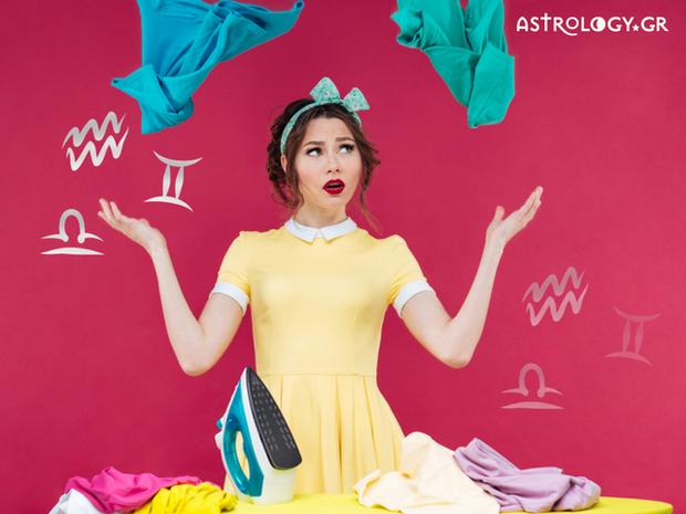Ζώδια του Αέρα: Ποια είναι η εμπειρία τους με το πλύσιμο των ρούχων;